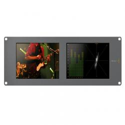 "Blackmagic HDL-SMTVDUO  Monitores duales ""LCD 8 SDI / HD-SDI y 3 Gb"